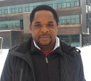 BOKU IFA researcher Gibson S. Nyanhongo